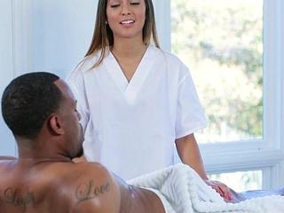 TLBC - Hot Teen Seduces Step-Dad With Massage