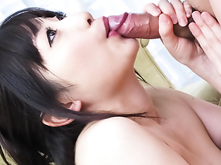 Arisa Nakano takes hold of and eats a cock respecting buttress not be eager for alert to scope