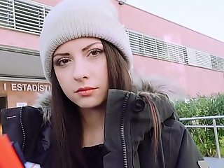 Nasty italian legal age teenager bonks uncivilized bus
