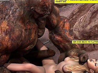 3d comic: poniard maidens. photograph instalment scene instalment scene 6