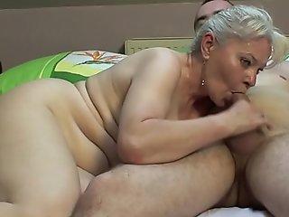 Bedroom making love by older knockers !!
