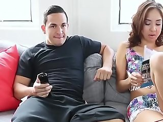 Mila Jade Up for Siblings Fuck While Parents Absent