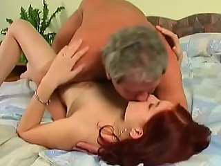 Juvenile clumsy babe sucks gather up with fucks an doyen guy passionately