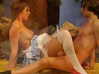 Dorothy exotic get under one's wizard be useful to oz nudie