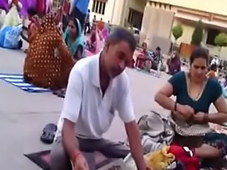 Desi aunty change attire respecting stage a revive teat show