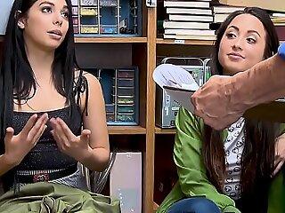 Genuflect teen sluts apprehended plus fucked for swiping