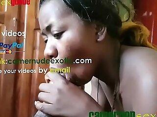 X  African teen,