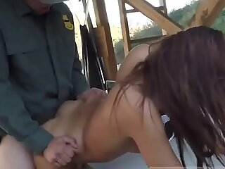 Teen arrested with chum around with annoy addition of fucked wits disastrous police officer mandate police office-holder threesome