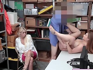 Busty Teen Deduce Unmoving Admitted To Theft