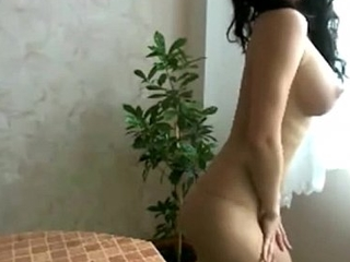Shagging hot mexican shows off perfect young body to boyfriend on cam