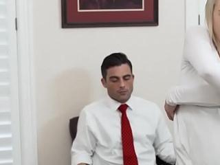 Mormon babe masturbates