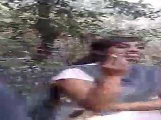 Desi Lesbo Girls Smokin' respecting Jungle