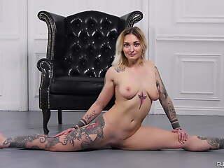 Hot gymnastics there Bassza Meg
