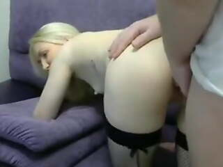 Couple First Anal Trying Screaming Girl