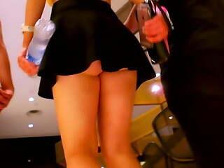 This Club Girl Upskirt Is Astonishing - Ejaculation Guaranteed