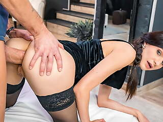 LETSDOEIT Sexy Arian Joyousness Gets Say no to Ass Destroyed By Big Cock