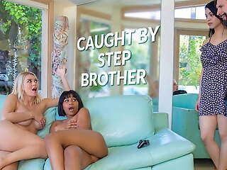LETSDOEIT - Natalia Starr & Jenna Foxx Hot Sexual intercourse With Stepbro