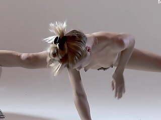 Russian hot perishable gymnast Rita Mochalkina