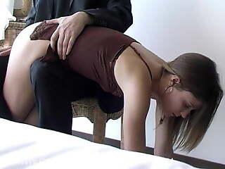 Pretty Abi Confession spanking 2