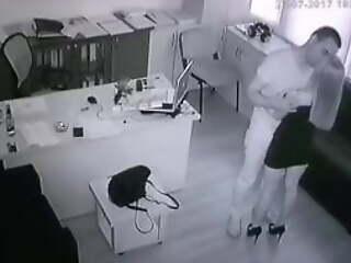 Office outr� sex - security camera