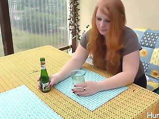 weil sie beim Pokern verloren hat, muss anal ficken