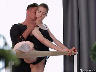 TeenMegaWorld - Creampie Angels - Dancers orgasm in classification