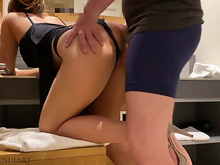 nympho stepsister's waggish double penetration, projectsexdiary