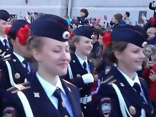 Beauty will win! Russian girls, take part in the parade!