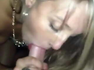 She gives several of the fastest CIM swallow blowjobs ever