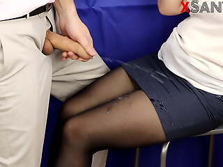 Why can't the secretary give me a blowjob? SanyAny