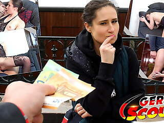 GERMAN SCOUT - REAL STREET CASTING FUCK WITH TEEN LARA Xanthippe