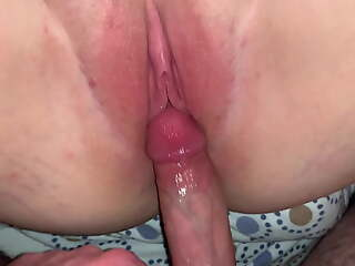 Creampie for my curvy girlfriend