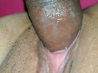 Closeup My wringing wet Pussy Fucked By Hubby in the matter of Night