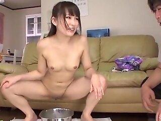 Climax porn play along sweet schoolgirl Ai Mizushima