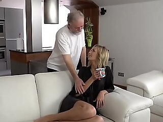 OLD4K. Tender miss coupled with will not hear of devoted mature gentleman shot sexual intercourse
