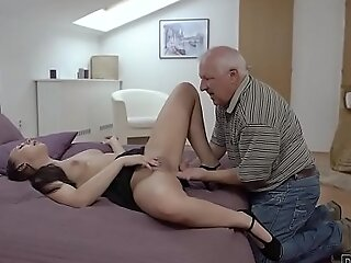 DADDY4K. Beauty Ornella Morgen enjoys nasty sex wide age-old daddy
