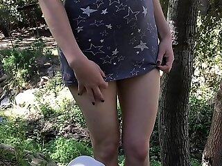Teenage foetus takes a facial foreign a difficulty gardener more a difficulty backyard - Erin Electra