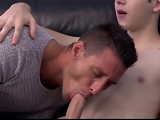 Young Twink Step Son Dakota Lovell Fucked By Way-out Step Pater On Family Couch