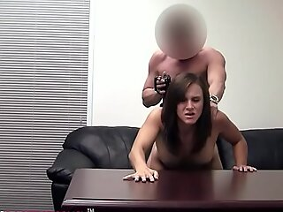 22yo Gymnast Tiffani Fucked For The 1st Time On Our Casting Camera!