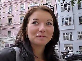 HUNT4K. Denisse is sick be proper of boring boyfriend but wants sex and money