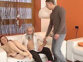 DADDY4K. Une loveliness rousse a des relations sexuelles folles avec