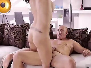 Japan mom anal Rough fuckfest be beneficial to super-sexy latina babe