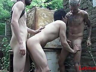 The Backyard Sex With Latino Teens