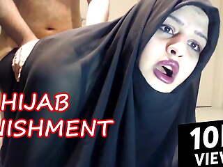ARAB HIJAB HARDCORE Chastisement
