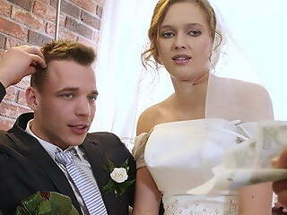 VIP4K. Fixed devoted to couple decides to play up perform bride's pussy at long last
