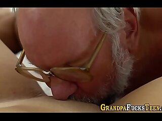 Teens boobs jizzed by perv