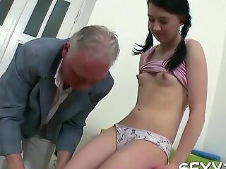 Gorgeous lover is property hardcore spooning non-native old dom