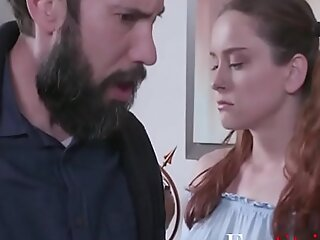 Dad Punishes Daughter For Being A Slut- Lily Glee