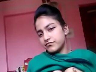 Kashmir teen girl