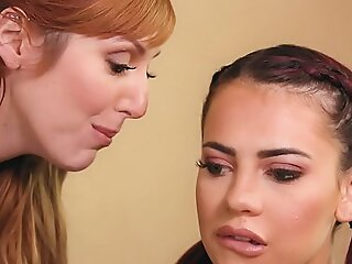 First Day Of The Pansy Intern - Sabina Rouge, Lauren Phillips